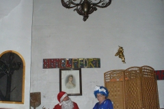 Frau Holle + Weihnachtsmann